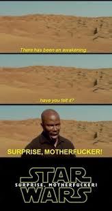 Surprise Mother Meme - new take on the star wars teaser meme guy
