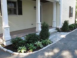 side porch designs side entrance traditional porch boston by nilsen landscape