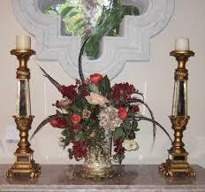 silk arrangements for home decor 7729