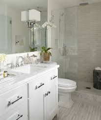 san francisco vallelunga calacatta tile bathroom transitional with