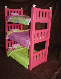 18 Inch Doll Bunk Bed American Doll Bunk Bed Yellow Tikspor