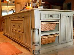 Kitchen Cabinets Baskets Kitchen Island I Love The End Of This But I Would Put Shelves