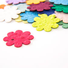 flower seed paper plantable flower seed paper flower confetti