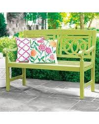 Grandin Road Outdoor Furniture by Amazing Deal On 48 In Amalfi Outdoor Bench Cobalt Grandin Road