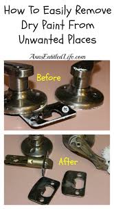 paint places how to easily remove dry paint from unwanted places jpg