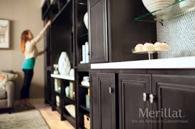 Merrilat Kitchen Cabinets Merillat Classic Glen Arbor Maple Dusk Merillat Cabinetry The