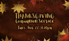thanksgiving communion service faith baptist church of mandarin