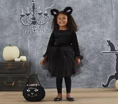 Kids Halloween Cat Costume Black Cat Tutu Costume Pottery Barn Kids