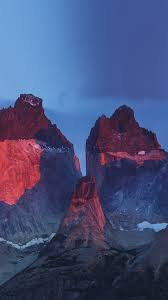 apple yosemite wallpaper photographer yosemite mountain red blue nature cold iphone 7 wallpaper