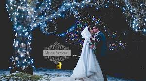 winter wedding at nikka yuko winter lights festival youtube