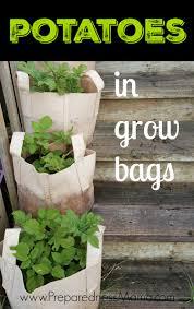 potatoes in grow bags preparednessmama