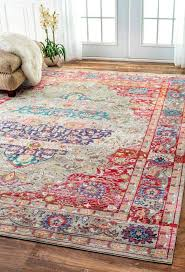 Antique Area Rug Popular Retro Area Rugs Regarding Favorite Budget Friendly Blue
