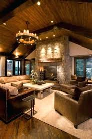 log cabin living room decor cabin living rooms istanbulby me