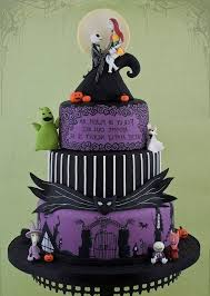 nightmare before christmas cake decorations nightmare before christmas wedding cake fishwolfeboro