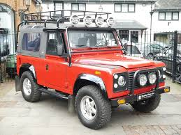 land rover defender 90 convertible 1996 land rover defender 90 nas soft top classic driver market
