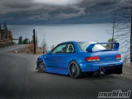 subaru rsti widebody 1998 subaru impreza 2 5rs coupe modified magazine