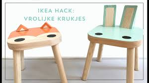 ikea hacks from flisat stool to cute kids chair youtube