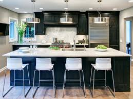 Painting Cabinets Kitchen Kitchens With Painted Cabinets And Voguish Painting