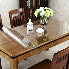 flannel backed vinyl table pad round table pad protector medium size of dining room table