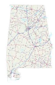 Alabama Maps Alabama Maps Free Printable Alabama Road Maps