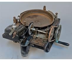 standard johnson co model n4 wheel coin sorting machin