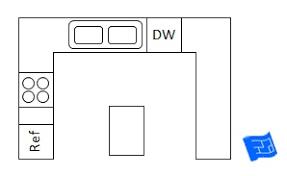 island shaped kitchen layout g shaped kitchen