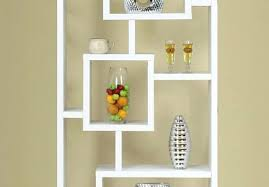 Modern White Bookcases Bookcase Contemporary Bookcase Living Room Modern Shelves