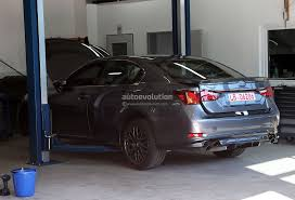 lexus sedan 2015 spyshots 2015 lexus gs f performance sedan autoevolution