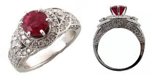 traditional engagement rings non traditional engagement rings what the ruby symbolizes the