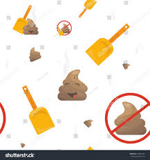 toast emoji emoji seamless vector pattern poo stock vector 693906334