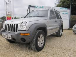 jeep liberty 2001 used jeep cherokee 2 5 for sale motors co uk