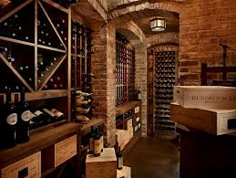 built in wine racks traditional basement toth construction