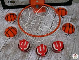 March Madness Decorations The Most Awesome Est Cupcakes Go Iu Party Like A Rockstar