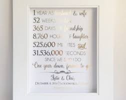 paper anniversary gifts for husband 1st anniversary gift etsy