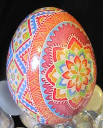 Duck Egg Pysanka By Katrina Lazarev Such Bright Energy U0027great