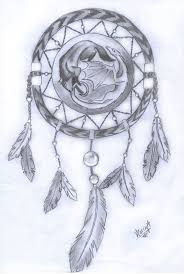 wolf dreamcatcher drawings tattoos for s