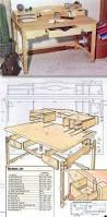Desk Plans Woodworking Arts And Crafts Desk Plans Furniture Plans And Projects