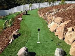 grass solutions pty ltd problem steeply sloping rear yard