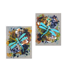 home decor art the versatility of diptych paintings