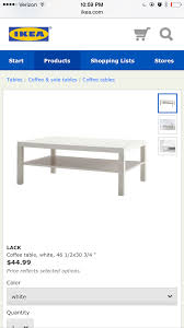 ikea lack coffee table hack paint the world white by brynne