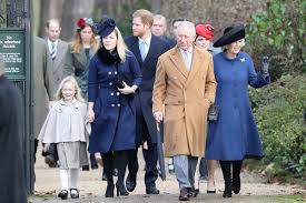 the royal family attend 2016 day service
