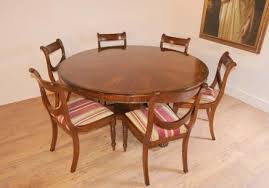 round table and chairs regency dining set round table mahogany swag chairs home