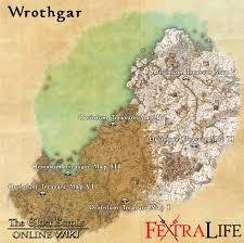 the rift ce treasure map wrothgar treasure maps elder scrolls wiki