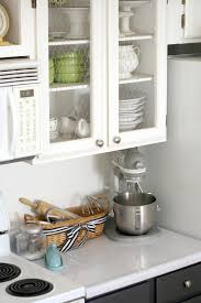 Glass Door Cabinets For Kitchen by Tall Kitchen Cabinets With Glass Doors Tehranway Decoration