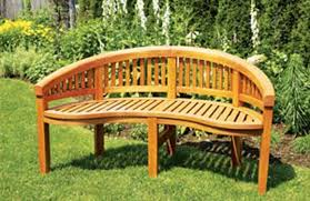 Outdoor Benche - natural and functional outdoor bench furniture garden bench