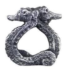 antique fish ring holder images Napkin rings holders jpg