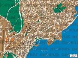 map of panama city geoatlas city maps panama city map city illustrator fully