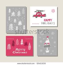 merry christmas lettering greeting card christmas stock vector