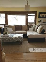Upholster A Sofa How To Re Cover A Microfiber Sectional Hometalk