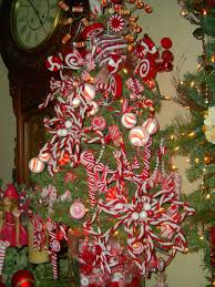 candy cane on christmas tree christmas lights decoration